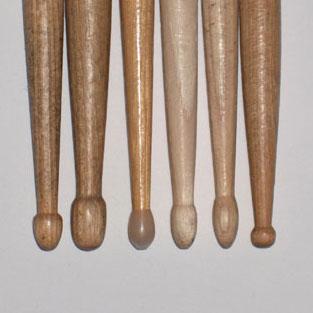 Ebony drumsticks