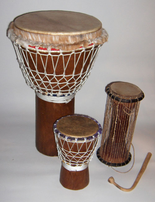 The Mandingo percussions