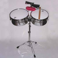 Lp Aspire steel shell latin timbales